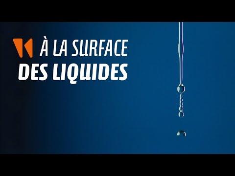 À la surface des liquides