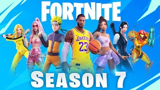 Fortnite SEASON 7 - New Leaks Explained!