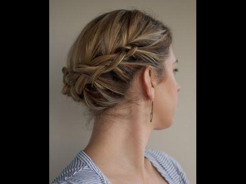Updos For Short Fine Hair Youtube