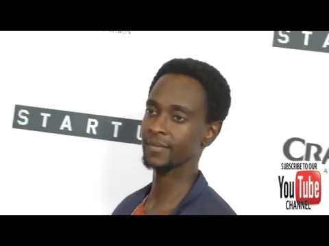 Edi Gathegi at the Premiere Of Crackle's Startup at London Hotel in West Hollywood