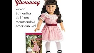 American Girl Doll Meet the New Samantha & Giveaway Thumbnail