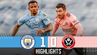 Manchester City 1-0 Sheffield United | EPL Premier League Highlights | Jesus goal downs Blades