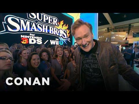 Conan Visits E3 2014