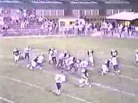 Lock Haven (Bobcats) High School vs  Indian Valley High School,1991 Football