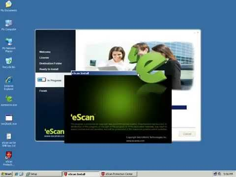 EScan ISS For SMB V14 -Installation Process