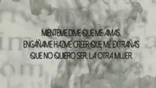 La Otra Mujer / Pandora 30 (Letra)
