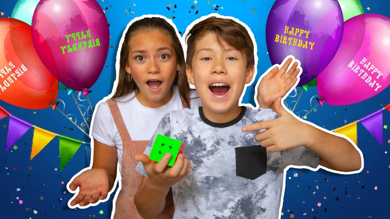 Mason's 12th Birthday Special!   We Lost His Present!