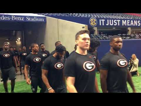 12/1:  GEORGIA Team Walkin for Friday Walkthrough