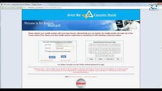 Canara Bank Netbanking Inactive