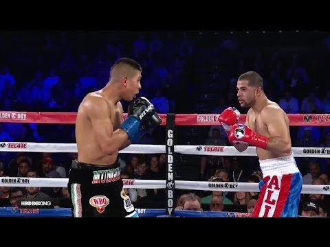 Jaime Munguia is boxing NEW Mexican Super CHAMPION!!! Demolishes Sadam Ali in four rounds