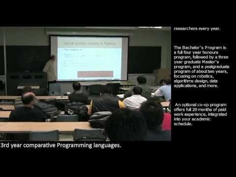Comp. Sci. promo video (Course project)