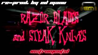 Jarren Benton- Razor Blades and Steak Knives Instrumental