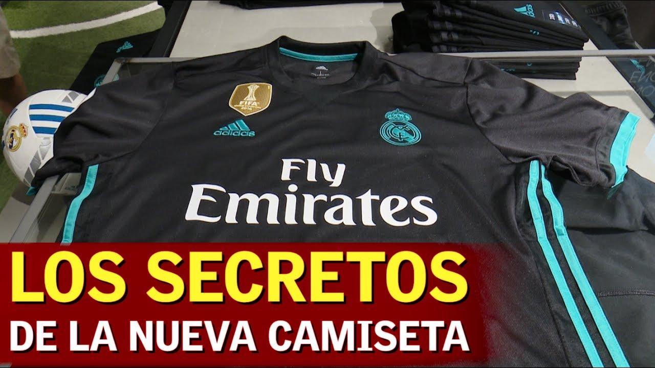 Todos los secretos de la nueva camiseta del Real Madrid (2017-18 ... 2ab5be4314338