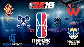 NBA 2K League Latest Info! Full Team Logos