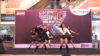 070517 TENTATIVE ( F(x)DANCE COVER ) - Electric Shock + Dance Break + Red Light @ Mangga Dua Square