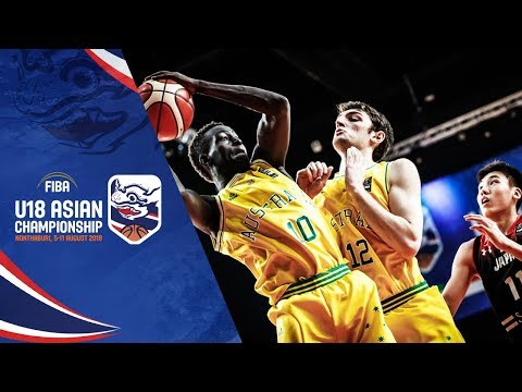 Australia def. Japan, 88-52 (REPLAY VIDEO) Advances to Semis against Batang Gilas