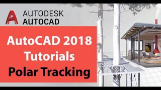 HOW TO USE POLAR TRACKING IN AUTOCAD 2018