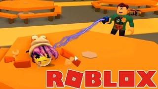 ROBLOX JAILBREAK | I GOT TASERED!!! | RADIOJH GAMES & MICROGUARDIAN
