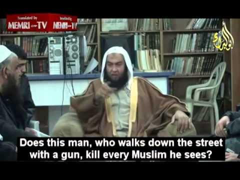 Jordański duchowny, który mówi, że zabijanie Żydów jest złe
