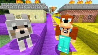 Minecraft Xbox - Burning Houses [263]