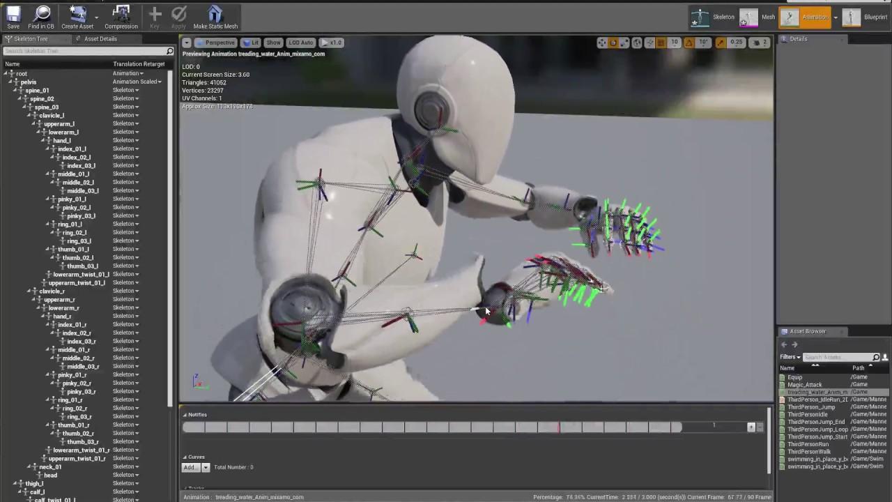 Unreal Engine Deforming Mesh