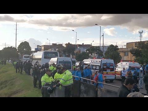 Nueva Intervención en el canal de la sexta en Bogotá