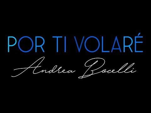 Por Ti Volaré (Andrea Bocelli) (Violin Music Sheet)