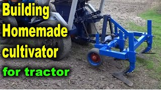 I'm BUILDING CULTIVATOR for tractor
