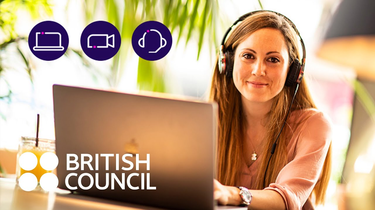 British Council English classes are going digital