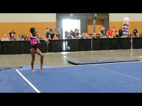 Carsyn Coleman - Floor - 2018 Auburn Elite Qualifier