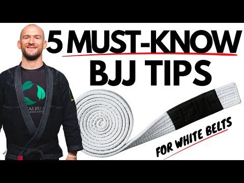 5 BJJ White Belt Tips Beginning BJJ Mindset and Goals   Chris Matakas