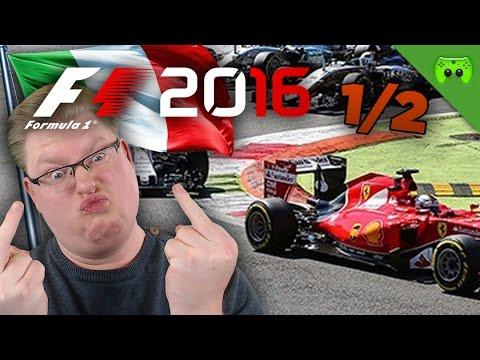 PIET vs. DNER | Italien 1/2 🎮 F1 2016 #41