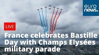 France celebrates Bastille Day with Champs Elysées military parade |