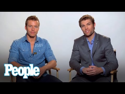Spartacus Hunks Liam McIntyre and Todd Lasance Talk Going Nude  People