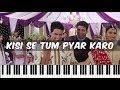 Kisi Se Tum Pyar Karo - Andaaz ♫ | Hindi Song Notes | Piano 4 U ♫ Cover