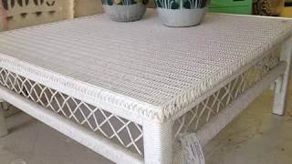 Square Wicker Table | Square Wicker Coffee Table