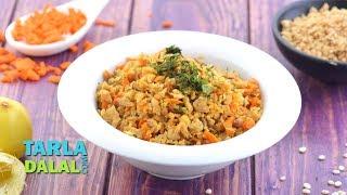 Soya Upma Recipe (Iron Rich Recipe) by Tarla Dalal