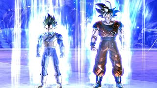 Goku & Vegeta After DBS Quest In Dragon Ball Xenoverse 2 Mods