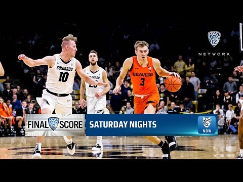 Oregon State Beavers - Beavs edge Buffs 76-74 for second Pac-12 road win!!