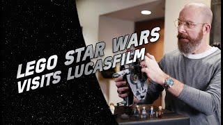LEGO Star Wars Visits Lucasfilm - LEGO STAR WARS - 20th Anniversary Video