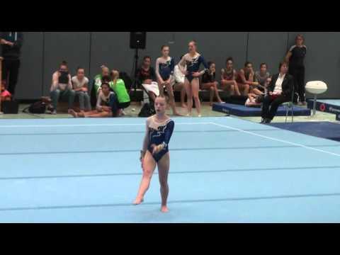 Deutschland Pokal 2015 Alina Hügli AK13 bis AK15 Fx