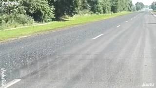 Ремонт дорог в Слониме. Просто жесть! Как обманывают водителей за 6БВ и разбивают лобовые стекла.