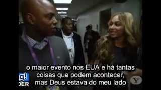 Beyoncé fala sobre o Show do Super Bowl - LEGENDADO