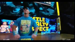 "John Cena Theme with Crowd Singing ""John Cena Sucks!"" AGAIN on WWE RAW 3/2/15 HQ"