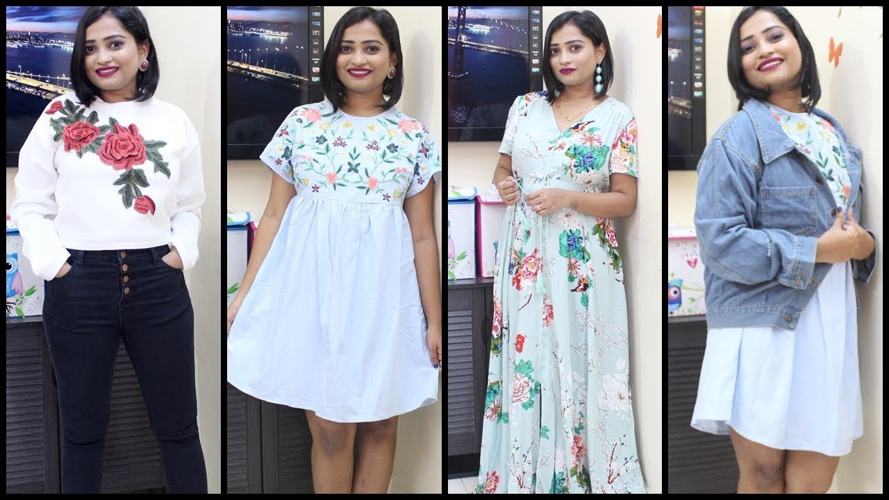 Romwe haul try on haul cheap trendy clothes indian for Good cheap online stores