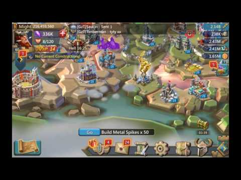 Lords Mobile: Shortydoowop On How To Set A Trap Castle