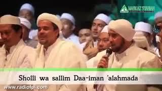Sholli wa salim daiman alahmada ~ HRS dan Habib Syech