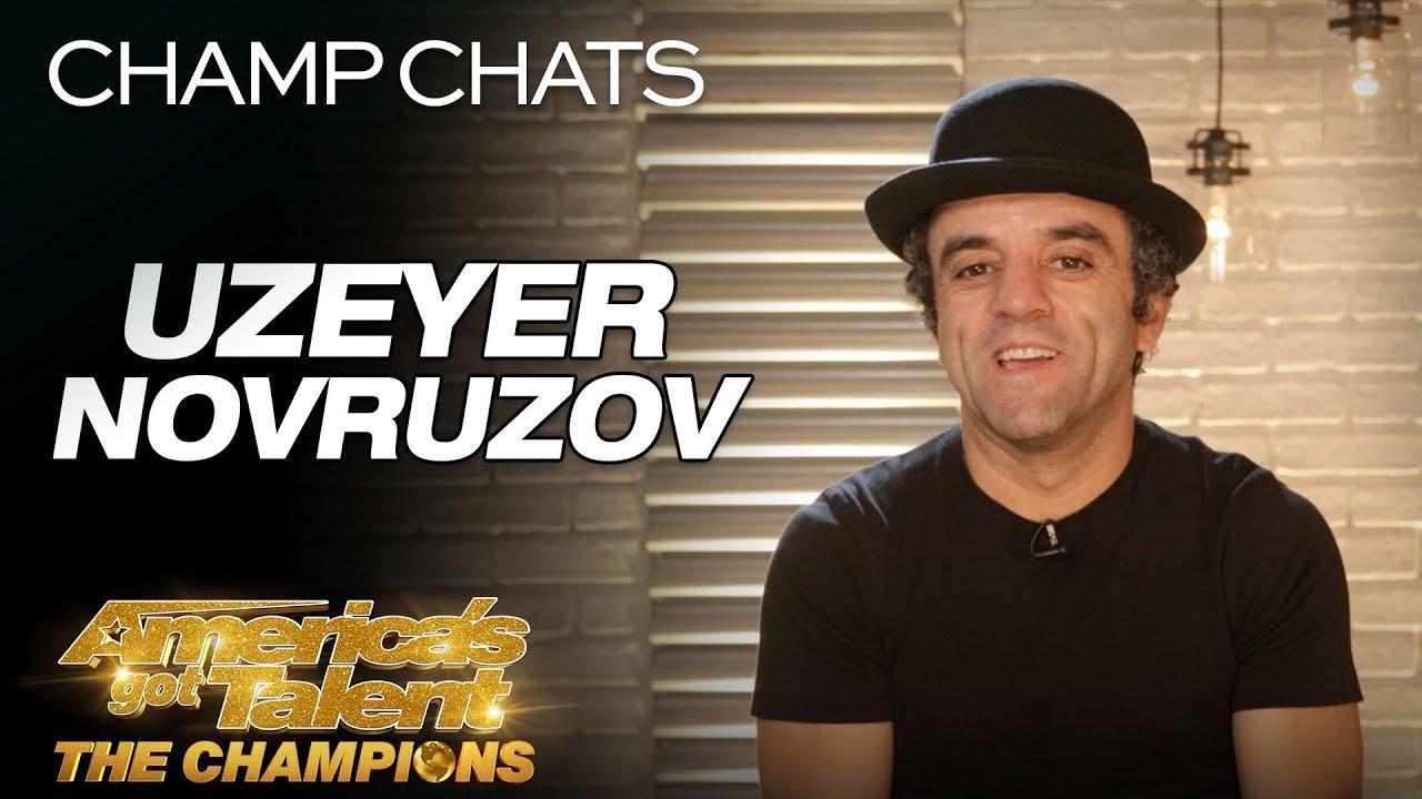 Uzeyer Novruzov Recalls His Ladder Fall - America's Got Talent: The Champions
