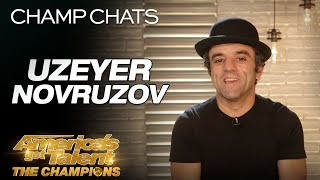 Uzeyer Novruzov Recalls His Ladder Fall - America's Got Talent: The Champions