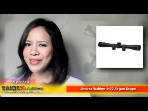 Airsoft | Umarex Walther 4×32 Airgun Scope Review